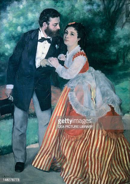 Alfred Sisley and his wife by PierreAuguste Renoir oil on canvas 105x75 cm Cologne WallrafRichartzMuseum