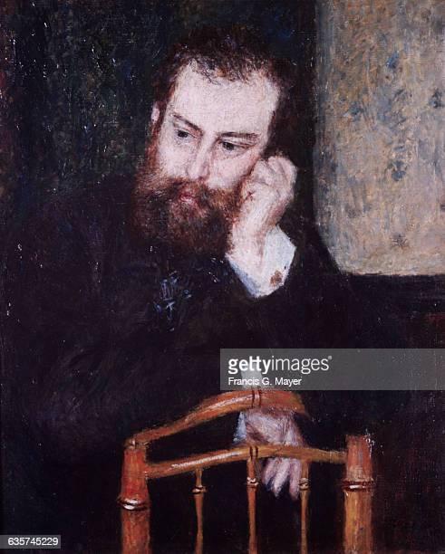 Alfred Sisley by PierreAuguste Renoir