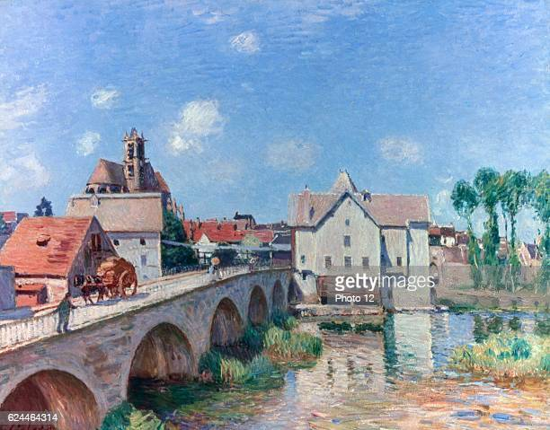 Alfred Sisley English school The Bridge at Moret 1893 Oil on canvas Paris musee d'Orsay