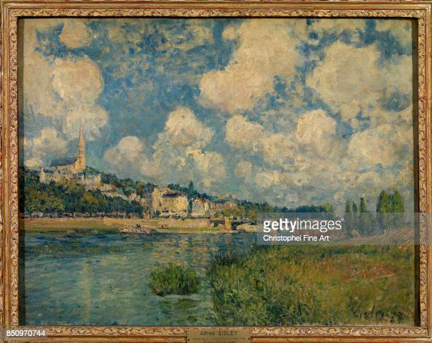 Alfred Sisley SaintCloud 1877 Oil on canvas 055 x 065 m Paris musee du Louvre COMPULSORY MENTIONS Donation Helene et Victor Lyon 1961