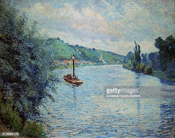 Alfred Sisley The Entrance to the Village A country road between grassy banks lined with trees leads the viewer's gaze diagonally into the picture...