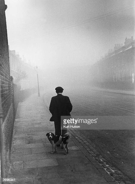 Alfred Smith one of the country's 1000 unemployed people who draws two pounds seven shillings and sixpence a week in unemployment benefit Peckham...