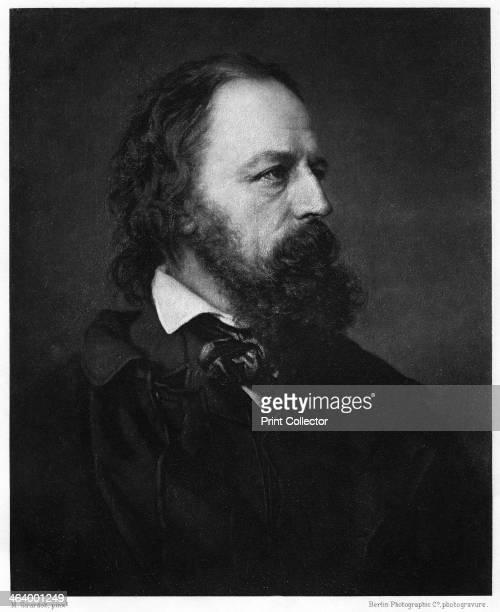 Alfred Tennyson, 1st Baron Tennyson , English poet, 1893. Tennyson succeeded William Wordsworth as Poet Laureate in 1850.