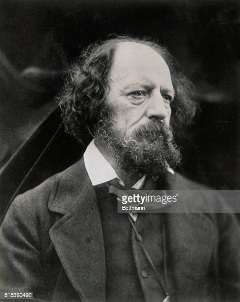 Alfred Tennyson , British poet.