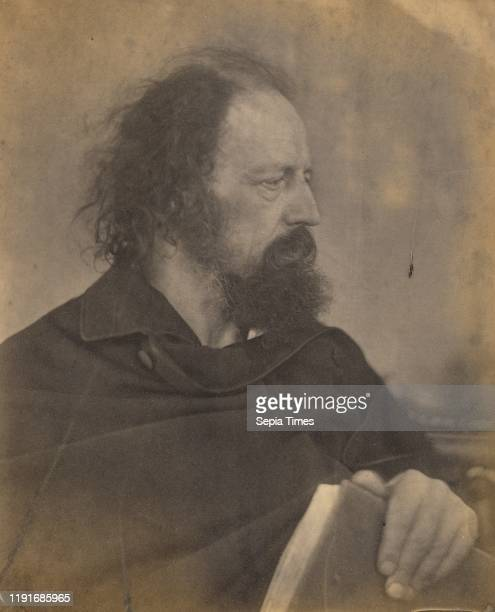 Alfred Tennyson, Julia Margaret Cameron , Freshwater, Isle of Wight, England, May 1865, Albumen silver print, 25.6 _ 21 cm