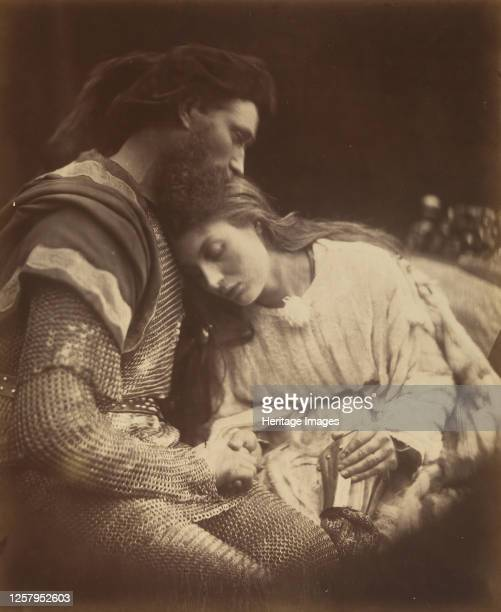 Alfred Tennyson's Idylls of the King and other Poems 1874 A series of narrative poems based on the legends of King Arthur Artist Julia Margaret...