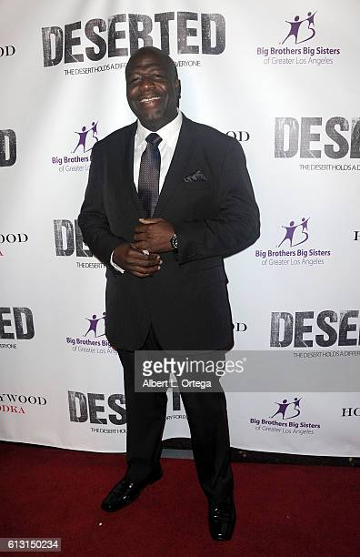 Alfred Thompson arrives for the Premiere Of Winterstone Pictures' 'Deserted' held at Majestic Crest Theatre on October 6 2016 in Los Angeles...