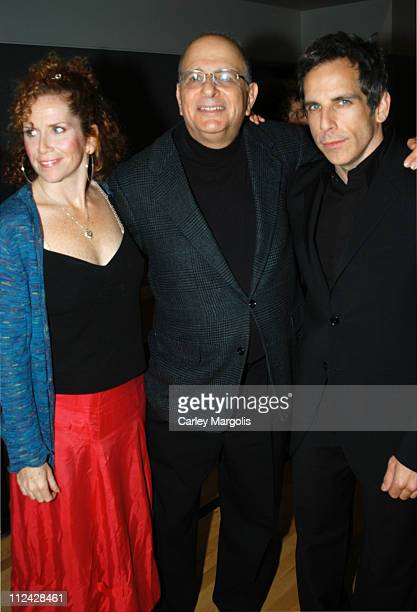 Alfred Uhry with his former students Amy Stiller and Ben Stiller