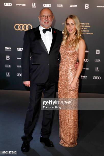 Alfred Weiss and his daughter Nina Weiss attend the 24th Opera Gala at Deutsche Oper Berlin on November 4 2017 in Berlin Germany