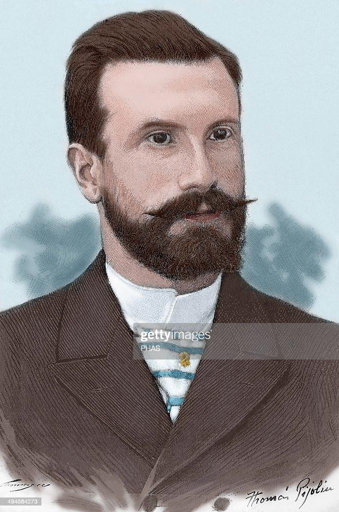 Alfredo Branas Menendez (1859-1900). Colored ngraving. : News Photo