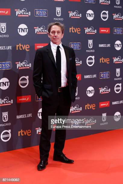 Alfredo Castro attends Platino Awards 2017 at La Caja Magica on July 22 2017 in Madrid Spain