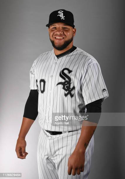Alfredo Gonzalez of the Chicago White Sox poses for a portrait on photo day at Camelback Ranch on February 21 2019 in Glendale Arizona