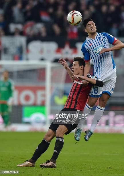 Alfredo Morales im Zweikampf mit Nadiem Amiri waehrend dem Fussball Bundesliga Spiel FC Ingolstadt 04 gegen die TSG Hoffenheim am 15 Spieltag der...