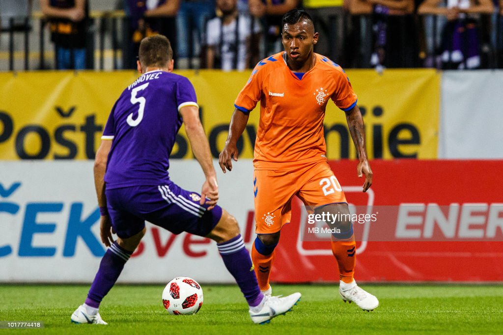 Maribor v Rangers - UEFA Europa League Third Round Qualifier: Second Leg