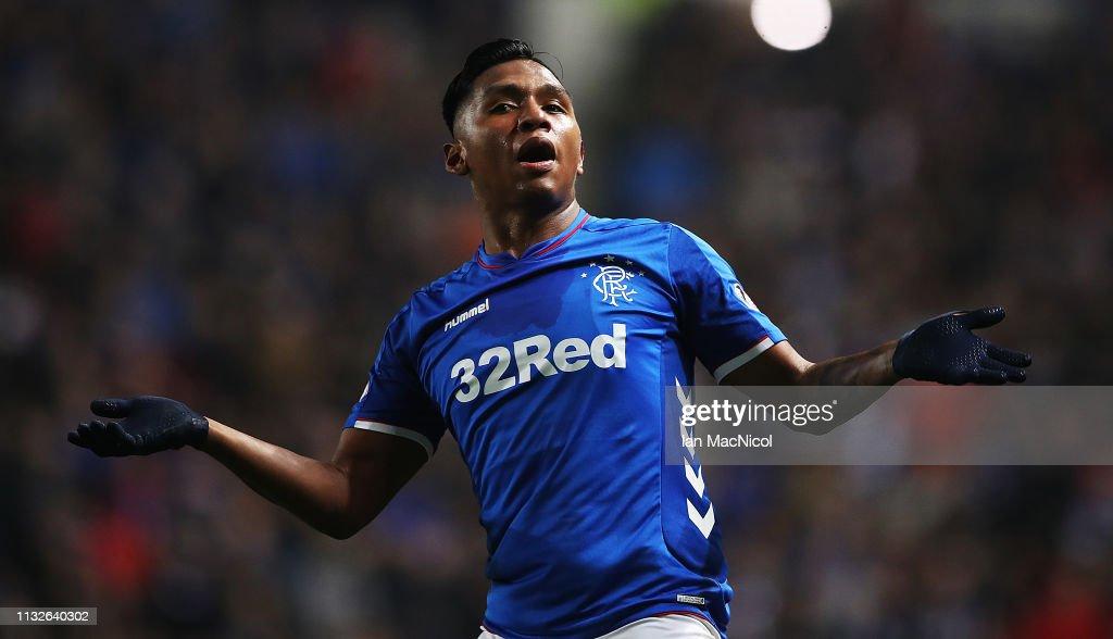Rangers v Dundee  - Scottish Ladbrokes Premiership : News Photo