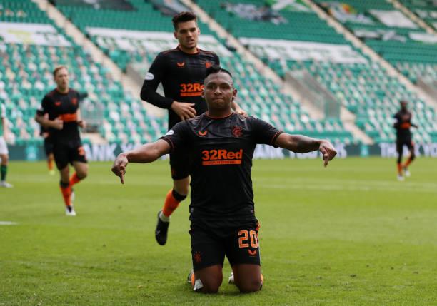 GBR: Hibernian v Rangers - Ladbrokes Scottish Premiership