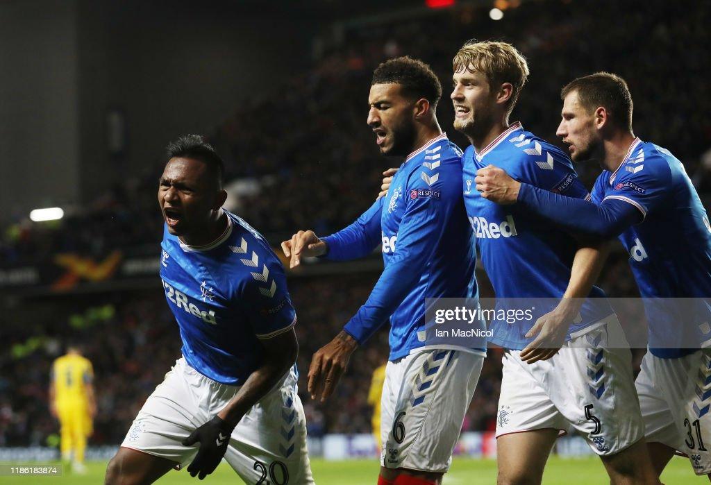 Rangers FC v FC Porto: Group G - UEFA Europa League : News Photo