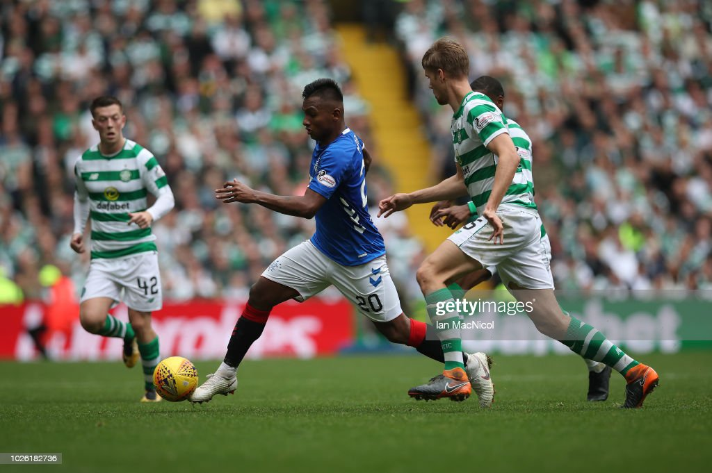 Celtic v Rangers -  Scottish Premier League : Foto di attualità