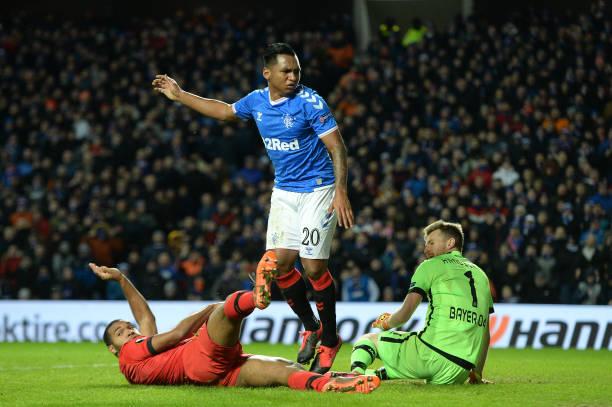 Rangers FC v Bayer 04 Leverkusen - UEFA Europa League Round of 16: First Leg