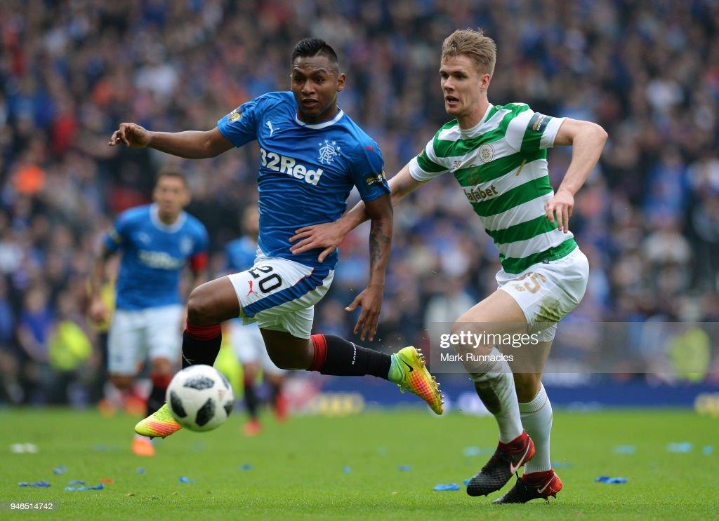 Rangers v Celtic - Scottish Cup Semi Final : News Photo