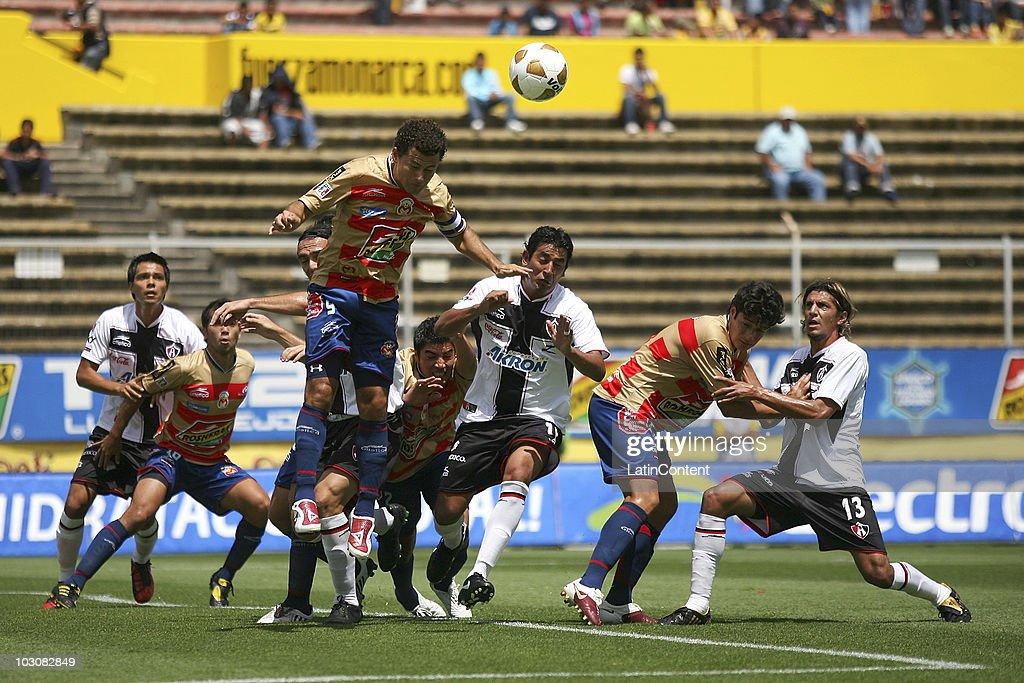 Monarcas Morelia v Atlas - Apertura 2010