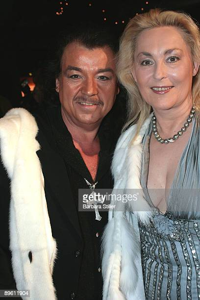 Alfredo Pauly and friend attend the UNESCO Benefit Gala for Children 2008 at Hotel Maritim on November 1 2008 in Cologne Germany