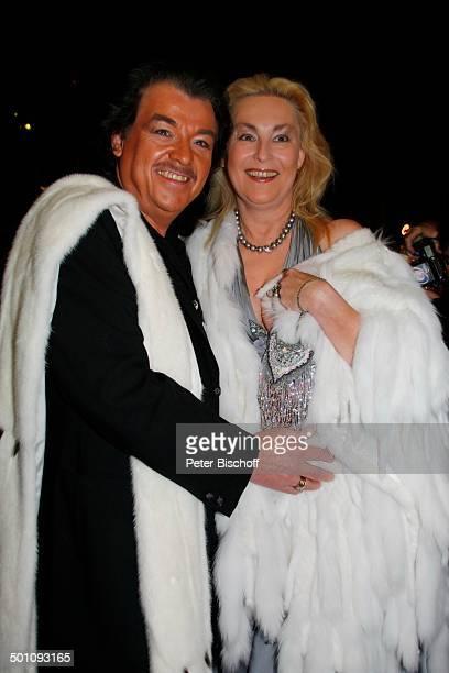 Alfredo Pauly Ehefrau Sabine CharityVeranstaltung11 'UnescoBenefizGala' 2008 Köln NordrheinWestfalen Deutschland Europa 'Maritim' Hotel Party Feier...