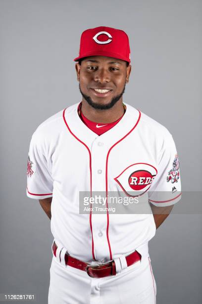 Alfredo Rodriguez of the Cincinnati Reds poses during Photo Day on Tuesday February 19 2019 at Goodyear Ballpark in Goodyear Arizona