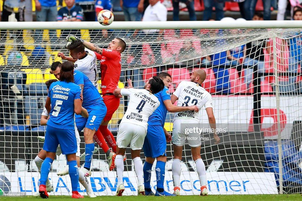 Cruz Azul v Pumas UNAM - Torneo Clausura 2019 Liga MX : News Photo