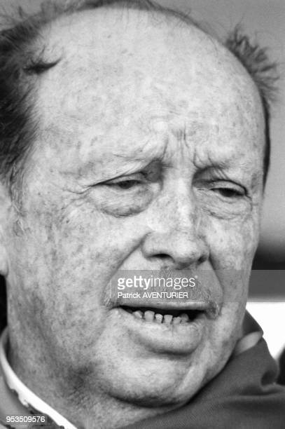 Alfredo Stroessner président du Paraguay en juin 1986