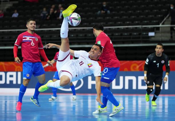 LTU: Costa Rica v Venezuela: Group A - FIFA Futsal World Cup 2021