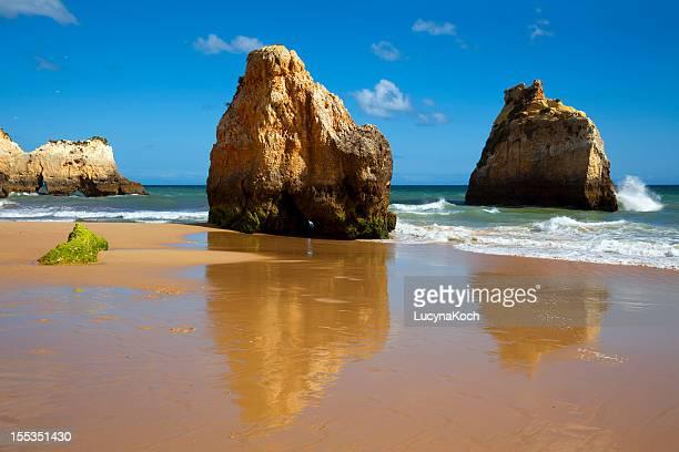 algarve beach - lucyna koch stock-fotos und bilder