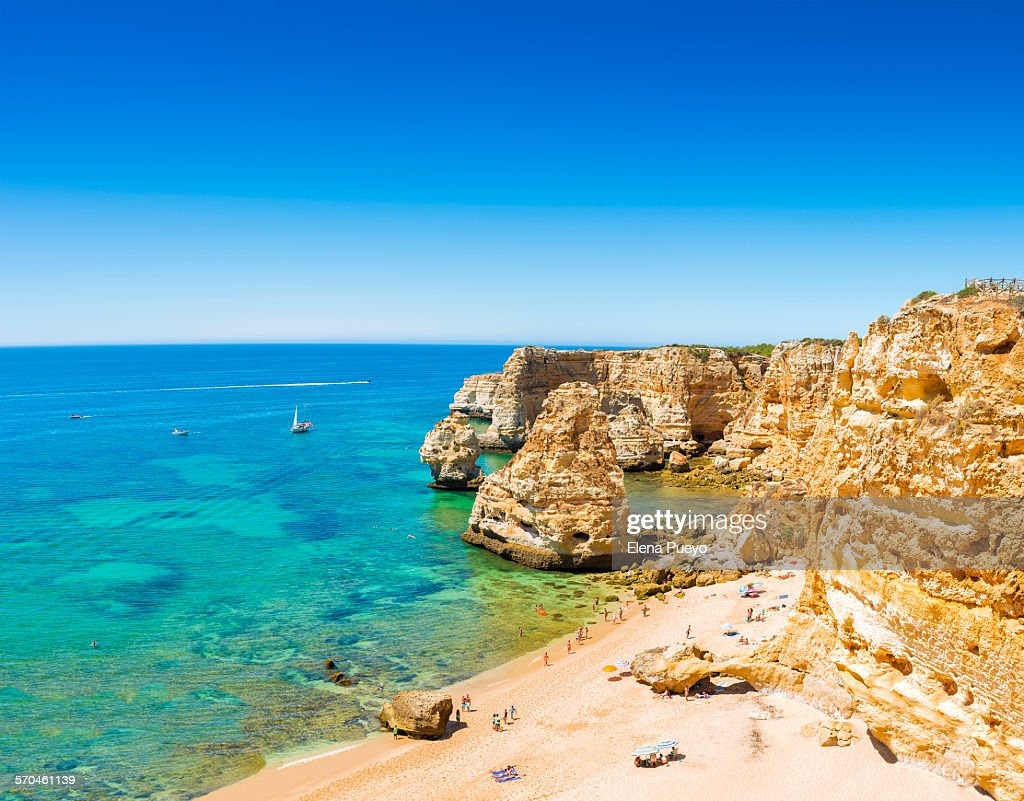 Algarve beach : Stock Photo