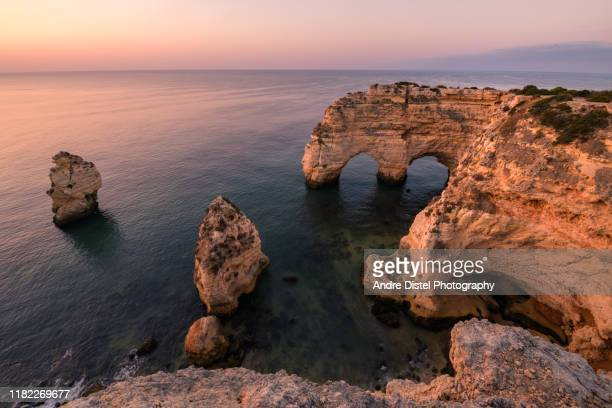 algarve, portugal - albufeira stock pictures, royalty-free photos & images