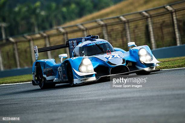 Algarve Pro Racing #24 Ligier JSP2 Judd driven by Tack Sung Kim Andrea Roda Matthew Mcmurry in action during the 20162017 Asian Le Mans Series Round...