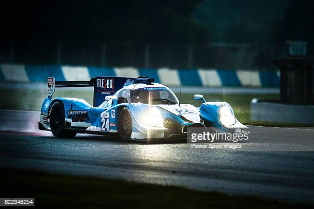 Algarve Pro Racing #24 Ligier JSP2 Judd driven by Tack Sung Kim Andrea Roda Matthew Mcmurry in action during Asian LMS Qualifying of the 20162017...