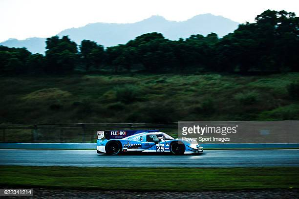 Algarve Pro Racing #25 Ligier JSP2 Nissan driven by Michael Munemann Nicky Catsburg ad Andrea Pizzitola in action during Asian LMS Qualifying of the...