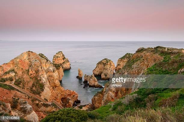 Algarve, under a red sky