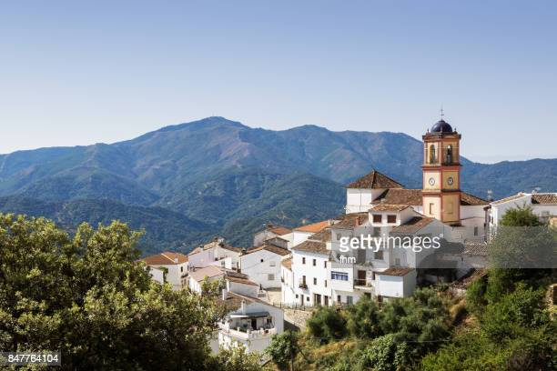 Algatocin - village in Andalusia/ Spain (Malaga Province)