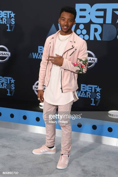 Algee Smith at the 2017 BET Awards at Microsoft Square on June 25 2017 in Los Angeles California