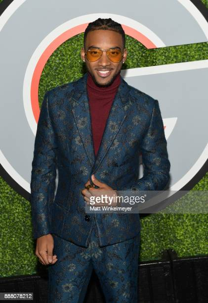 Algee Smith attends the 2017 GQ Men of the Year party at Chateau Marmont on December 7 2017 in Los Angeles California