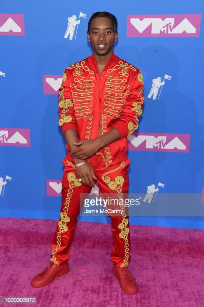 Algee Smith attends the 2018 MTV Video Music Awards at Radio City Music Hall on August 20 2018 in New York City