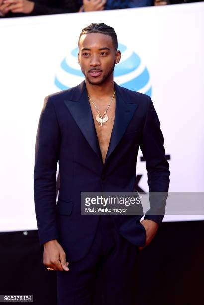 Algee Smith attends the 49th NAACP Image Awards at Pasadena Civic Auditorium on January 15 2018 in Pasadena California