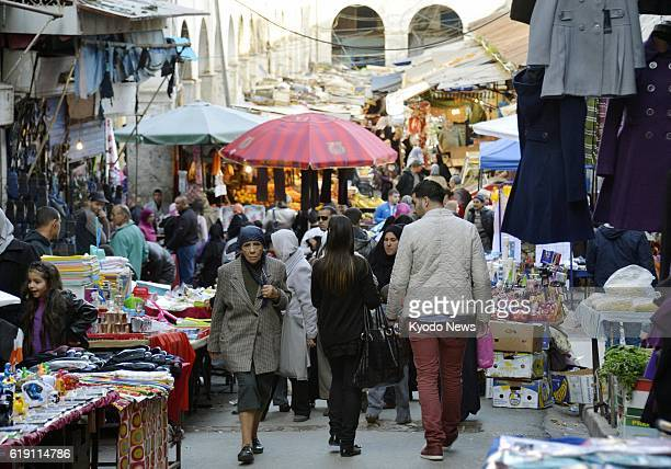 ALGIERS Algeria A Jan 29 photo shows a market in the Kasbah area of Algiers the capital of Algeria The Jan 16 hostage crisis has affected tourism of...
