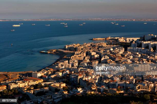 algeria, algier, view to the city from above - algeria stock pictures, royalty-free photos & images