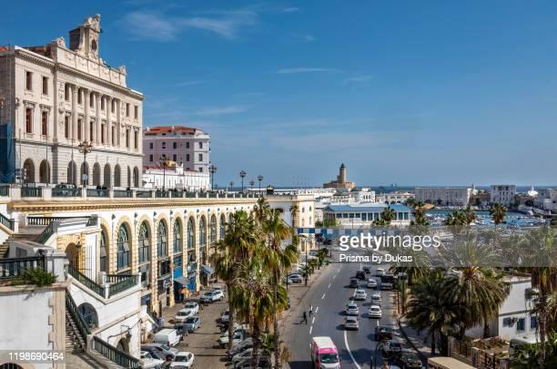 Algeria, Algiers, Chamber of Commerce Bldg. And Saadi El MokhtarAvenue.