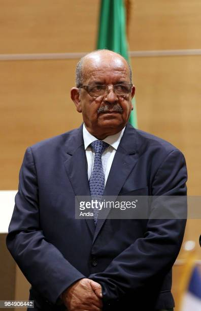 4th session of the FranceAlgeria Mixed Economic Committee COMEFA at the International Conference Center under the presidency of the minister of...