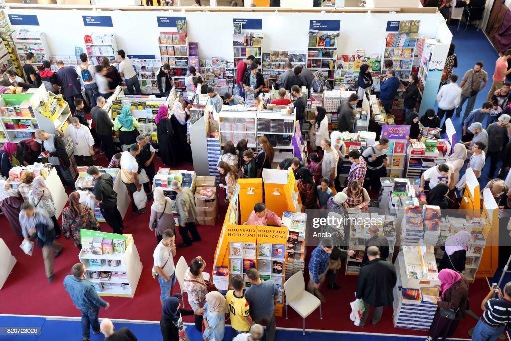 SILA, International Book Fair of Algiers. : News Photo