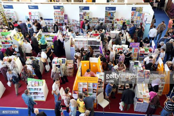 SILA International Book Fair of Algiers Stand of publisher Hachette Foucher Dunod