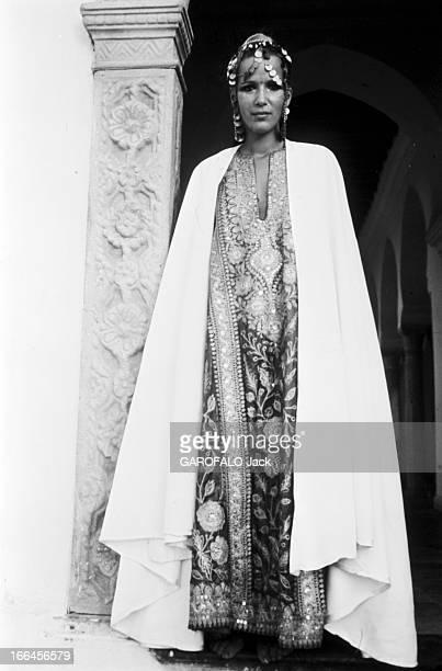 Algeria And Its Capital: Algiers. Algérie, Alger, 14 avril 1970, vie quotidienne dans la capitale, la plus grande ville du pays et ville côtière de...